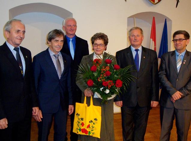 Nagrodzona M. Pająkowski-Kensik
