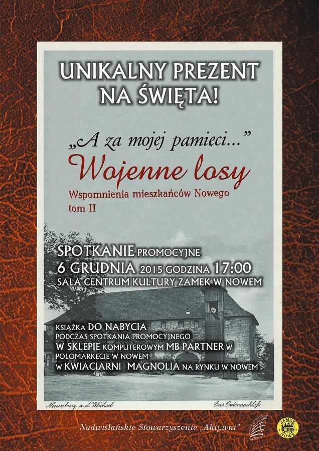 plakat promocja ksiażka