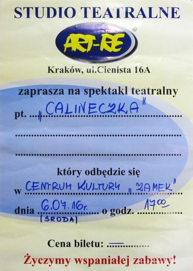 02. Calineczka