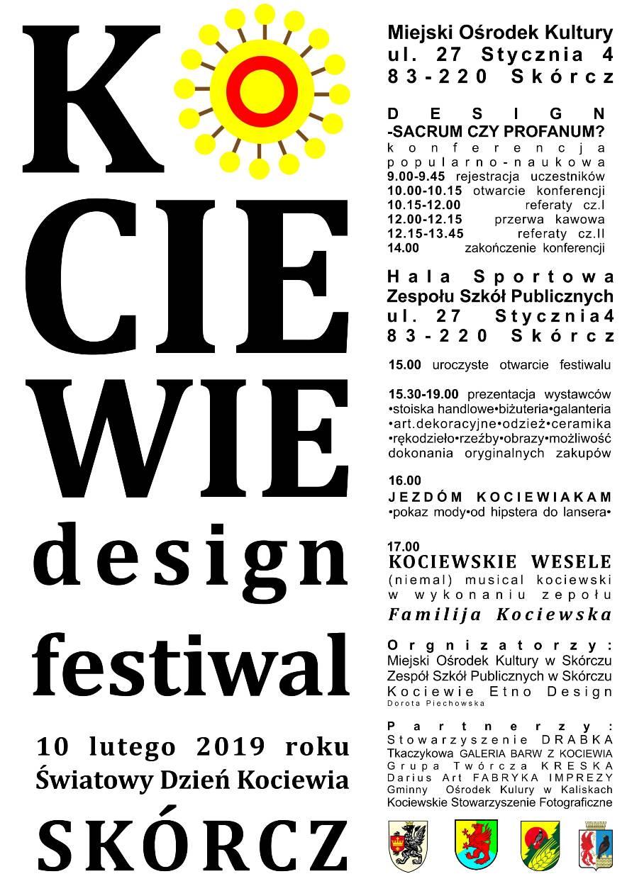 Kociewie Design Festival Zaproszenie Do Skórcza Gmina Nowe